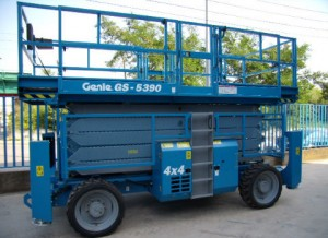 Genie GS 5390 – Xe nâng người dạng cắt kéo 18m