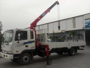 Cẩu tự hành 12 tấn