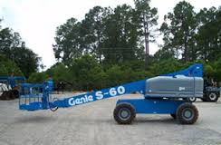 Xe nâng người genie S60- Chiều cao làm việc 20m
